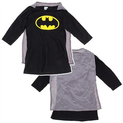 Batman Nightgown with Cape for Juniors