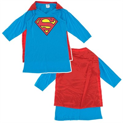 Super Girl Nightgown with Cape for Juniors