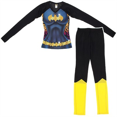 Batgirl Snug Fitting Pajama Set for Juniors