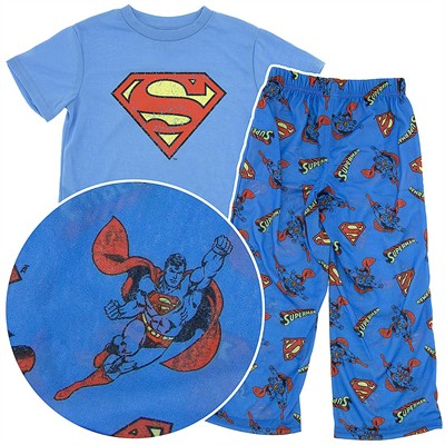 Superman Distressed Pajamas for Boys