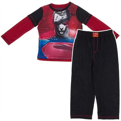 Superman Man of Steel Pajamas for Boys