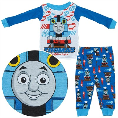Thomas the Tank Engine Cotton Pajamas for Infant Boys