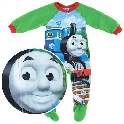 Thomas the Tank Engine Footed Pajamas for Toddler Boys