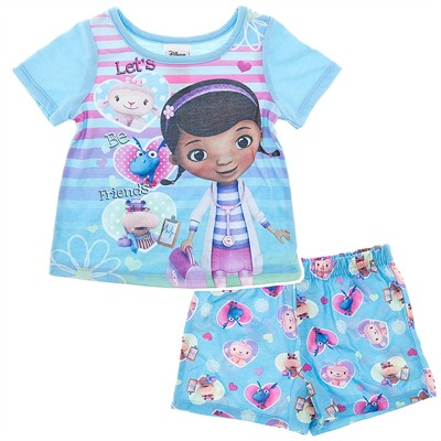 Doc McStuffins Shorty Pajamas for Toddler Girls