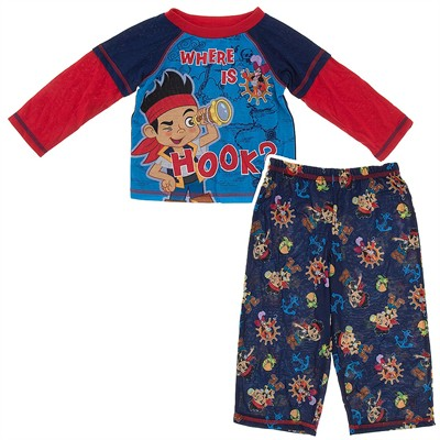Jake Where is Hook Toddler Pajamas for Boys