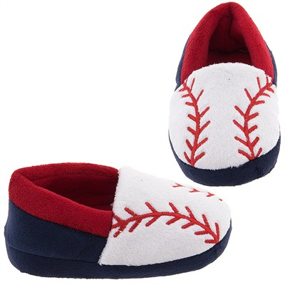 Base Ball Slippers for Toddler Boys