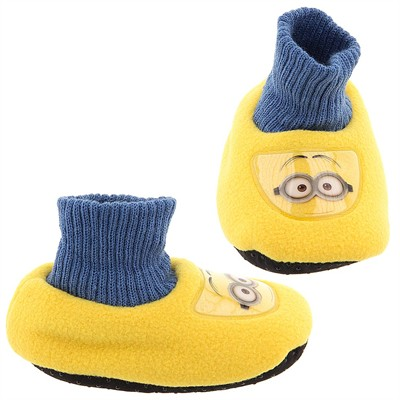 Despicable Me Sock Top Slippers for Toddlers