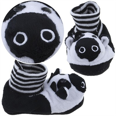 Cow Animal Sock Top Slippers for Toddlers