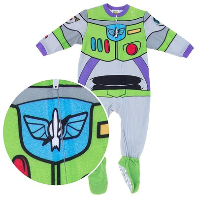 Buzz Lightyear Footed Pajamas for Baby Boys