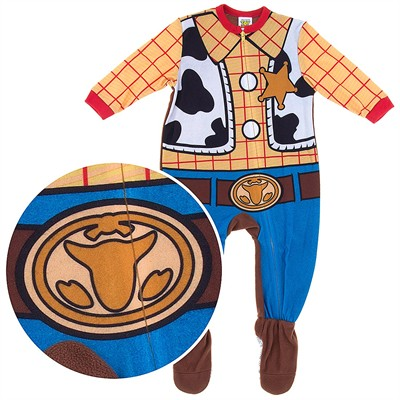 Woody Toy Story Footed Pajamas for Baby Boys
