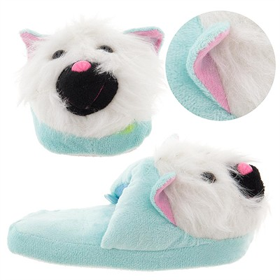 Fuzzy Cat Animal Slippers for Girls
