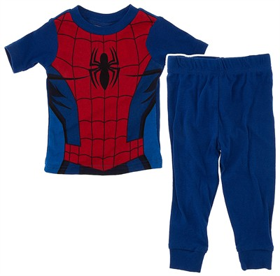 Ultimate Spider-Man Pajamas for Toddler Boys