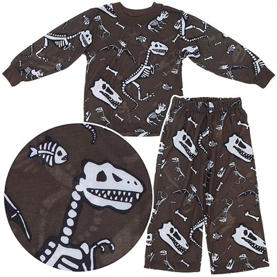 Wes and Willy Dinosaur Pajamas for Boys