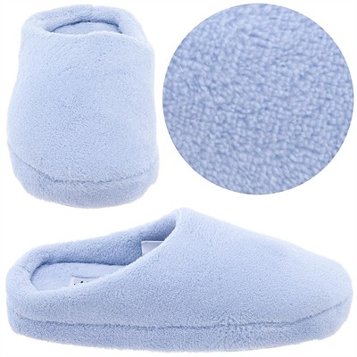 Light Blue Clog Style Slippers for Women