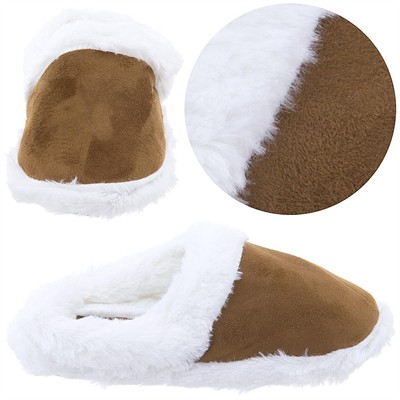 Goldtoe Camel Clog Style Slippers for Women