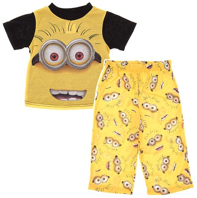 Despicable Me Minion Pajamas for Toddler Boys