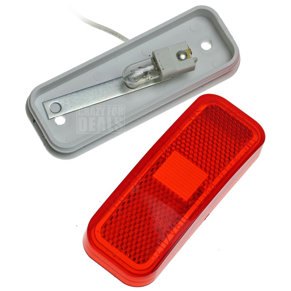 Glo Brite 117 Trailer Truck Red Clearance Marker Light