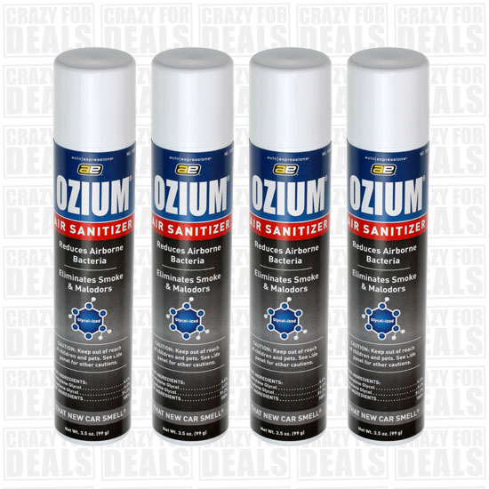 How To Use Ozium In Car