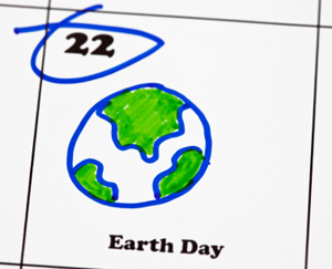 earth day is on april 22nd. Circle it on your calendar. It started for the first time on April 22nd 1970.