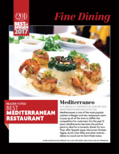 2017 Best of Bergen - Reader Vote Best Mediterranean Restaurant
