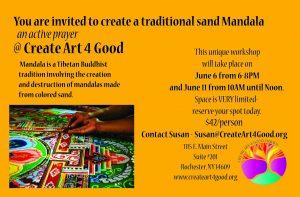 Mandala Invitation June