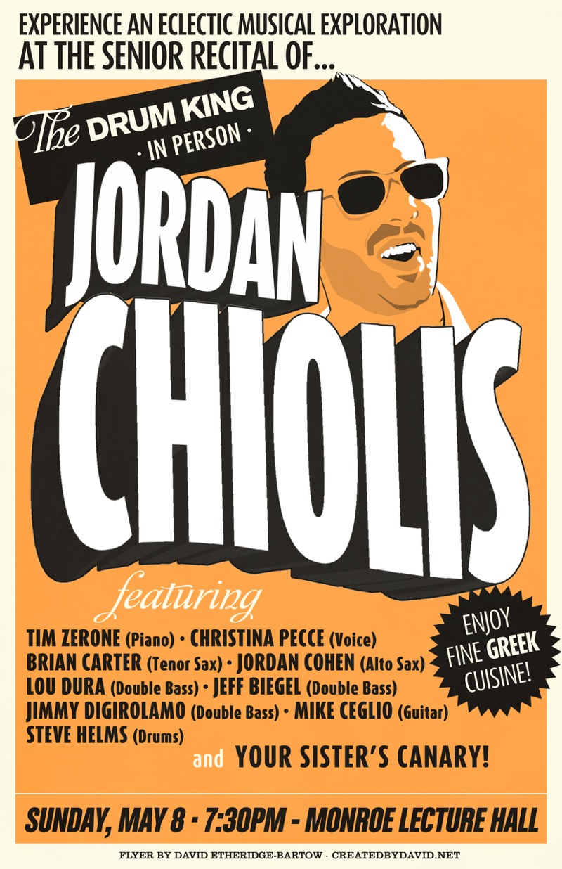 Jordan Chiolis Recital
