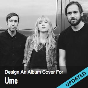 Design Album Art For Ume's Too Big World