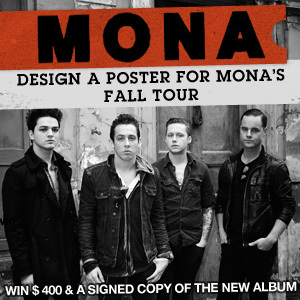Design A Poster For Mona's Fall Tour