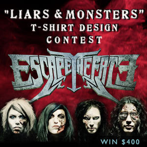 Liars & Monsters T-Shirt Design Contest for Escape the Fate