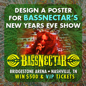 Design the Poster for Bassnectar's New Years Eve Show in Nashville