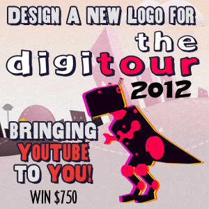 Design A New Logo for The DigiTour, Bringing YouTube To You!