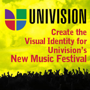 Create the Visual Identity for Univision's New Music Festival