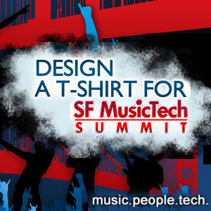 Design a T-Shirt for SF MusicTech Summit 2012