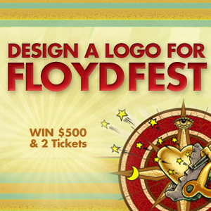 Design a Merch Logo for FloydFest 2012