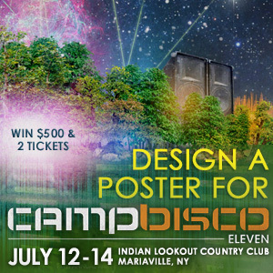 Design a Poster for Camp Bisco 2012