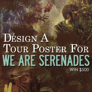 Design a Poster for We Are Serenades