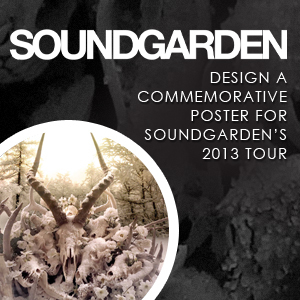 Design a Commemorative Tour Poster for Soundgarden