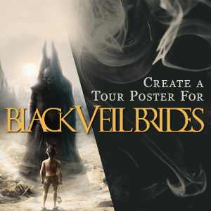 Design a Tour Poster for Black Veil Brides