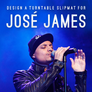Design a Turntable Slipmat for Jose James