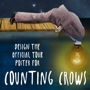 Design the Official Counting Crows Tour Poster