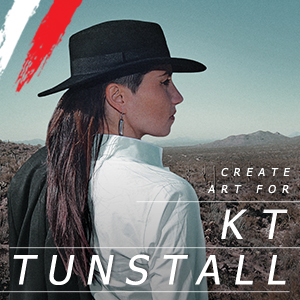 Create Tour Art for KT Tunstall