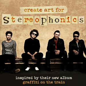 Design a Tour Poster for Stereophonics