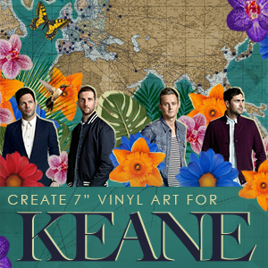 Create an Album Cover For Keane