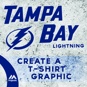 Design a T-Shirt for the Tampa Bay Lightning