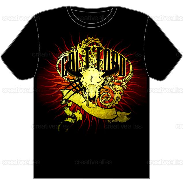 Clothing-tshirt-frontblack