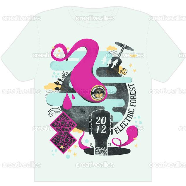 Electrictreefestshirt