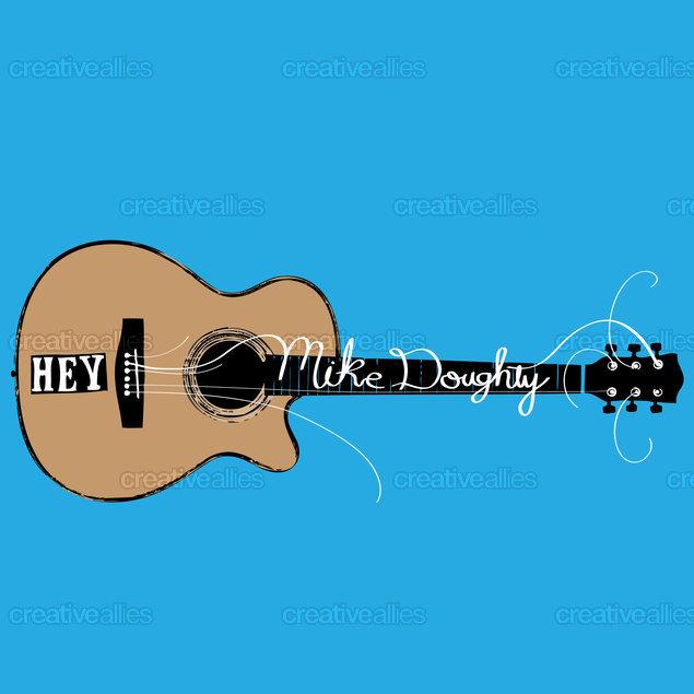 Mikedoughty-logo-guitar