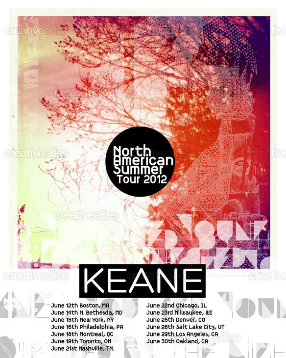 Keane Poster by Cedface on CreativeAllies.com