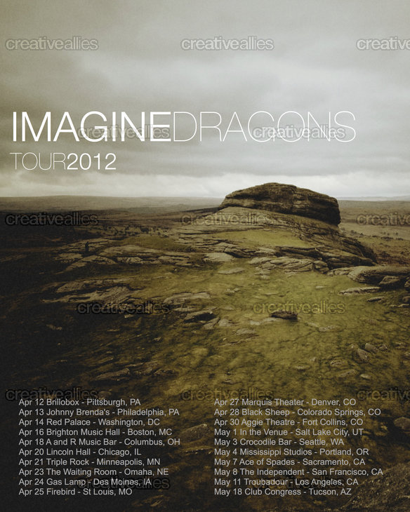 Imagine Dragons Tour  Orlando