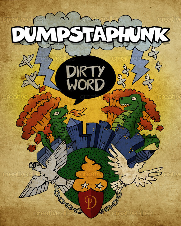 Dumpstaphunk Poster by graphicsyndicate